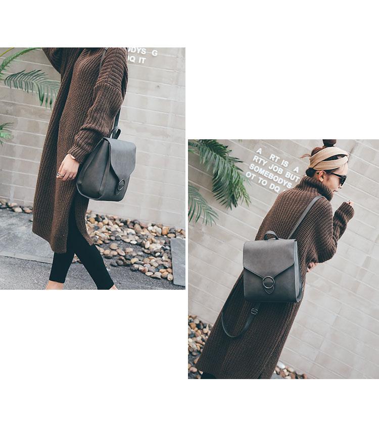 Retro Women's Rucksack Bag 25