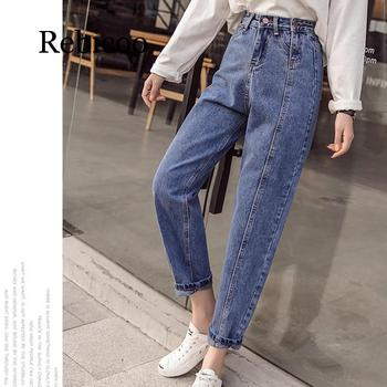 2019 Ladies High Waist Female Boyfriend Jeans  Hong Kong-flavored double zipper slim jeans вибратор hong kong might give my love