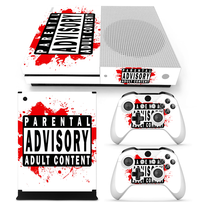 New arrival item skin sticker for XboxOne S colorful design game decals for Xbox one S #TN-XboxOne S-0774