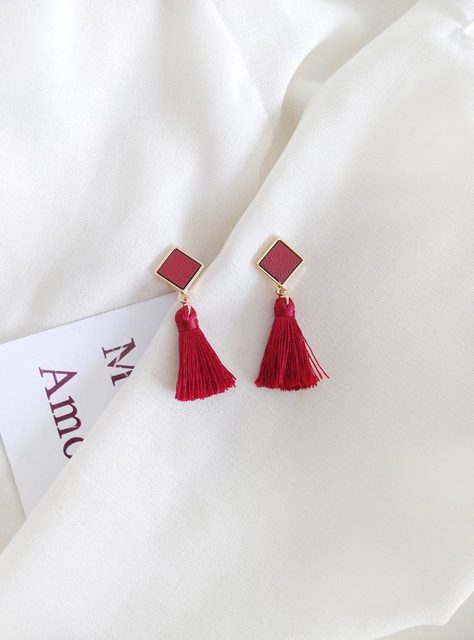 Stylish Short Tassel Earrings For Women