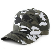 Camouflage Light Cap Plate Duck Tongue Soldiers Men And Women Wolf Outdoor Baseball Hat
