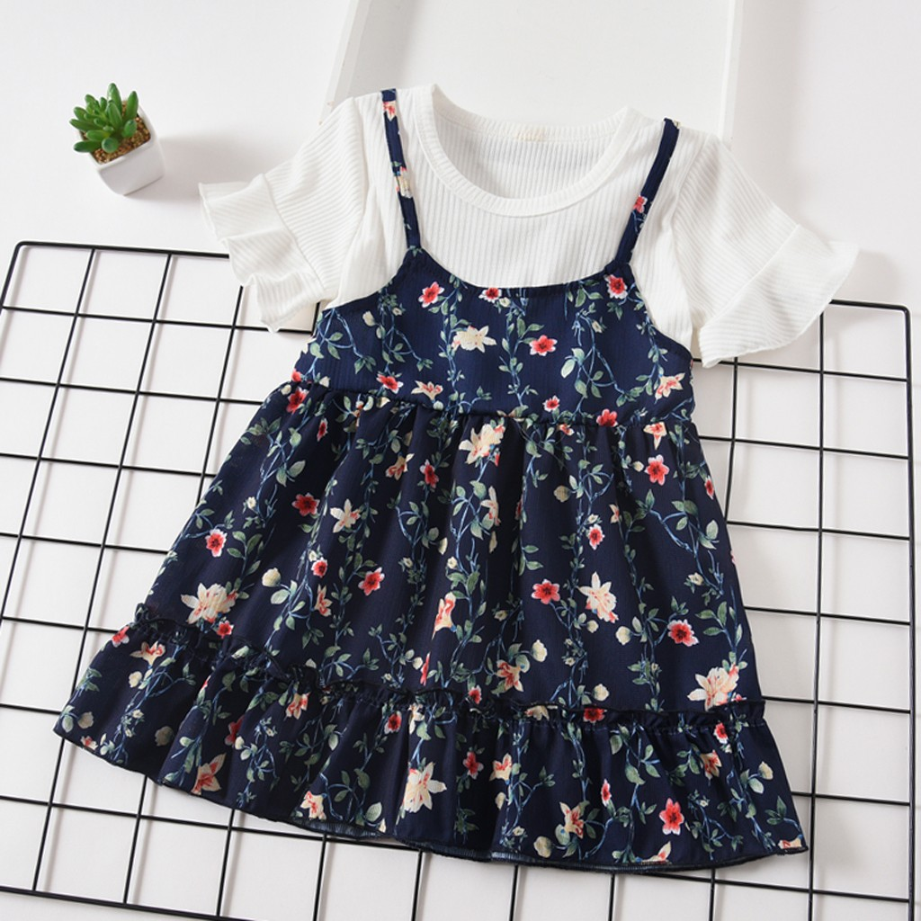 MUQGEW kids dresses for girls summer formal children's dresses sexy dress for young girls sukienki dla dziewczynek#G69(China)