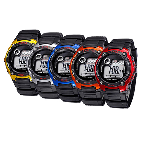 Men Women Multifunction Waterproof Child / Boy's / Girl's Unisex Sports Electronic Watches 3U95