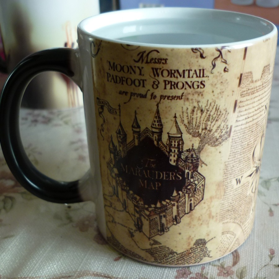 HTB1ghegMVXXXXXhXVXXq6xXFXXXl - Magic mug Marauders Map Harry Potter Magic Mug