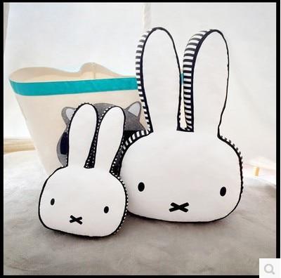 2018 Toys Lovely Rabbit Cushion Pillow Children Bed Calm
