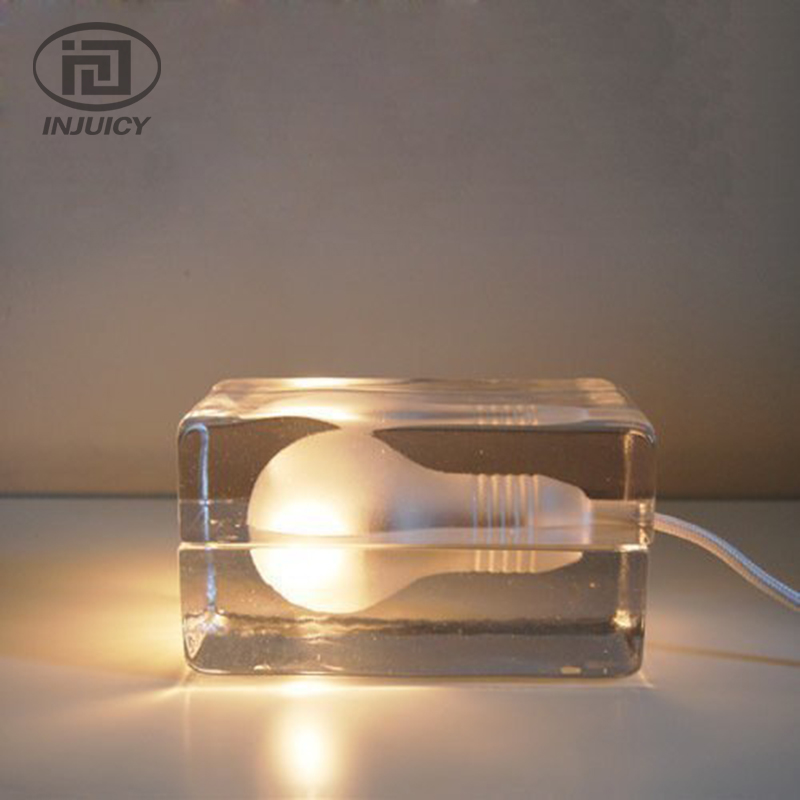 Post-modern Glass LED Desk Lamp Ice Crystal Glass Reading Lamp Study Bedside Table Lighting For Bedroom Cafe Bar Store Decor мужские ботинки shoiberg