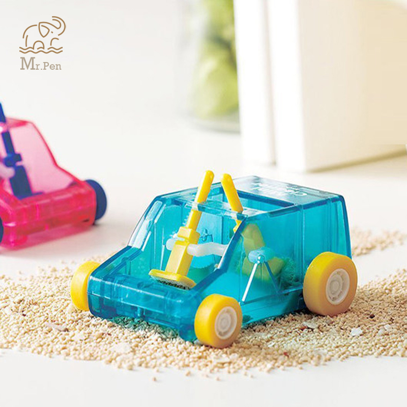 Toy Car Table Dust Cleaning Trolley Keyboard Desktop Dust Cleaner Confetti Pencil Eraser Dust Sweeper For Home Office Desk Set