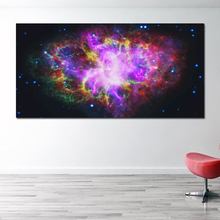 RELIABLI ART Canvas Art Print Postes Space Stars Modern Colorful Pictures For Living Room Universe Landscape Painting Unframed