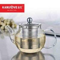 100% Genuine Kamjove A series tea cup 450 600ml tea pot elegant teaset kungfu Heat resistant glass tea set, can be heated