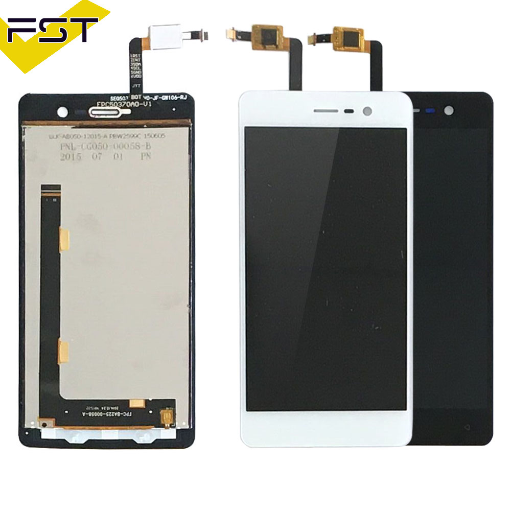 Black/White For Blackview Omega Pro LCD display and Touch Screen Digitizer Assembly High Quality For Omega Pro LCD