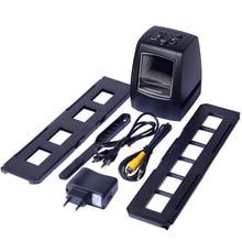 REDAMIGO 5MP 10MP 35 мм Портативный пленочный сканер фото сканер отрицательный фильм слайд-просмотра сканеры USB MSDC фильм монохромный для SDTV