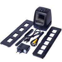 Портативный сканер пленки REDAMIGO 5MP 10MP 35 мм, сканер для фото, сканер отрицательной пленки, слайдер, сканеры, USB MSDC, монохромная пленка для SDTV-