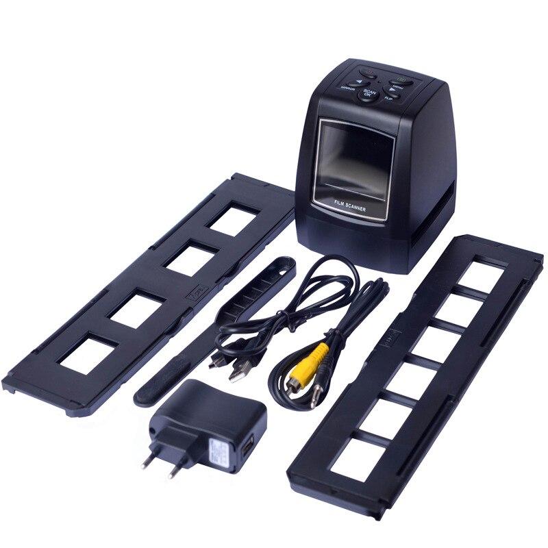 REDAMIGO 5MP 10MP 35mm portátil escáner de película foto escáner de película negativa, visor de diapositivas escáneres USB MSDC, película monocromo para SDTV-