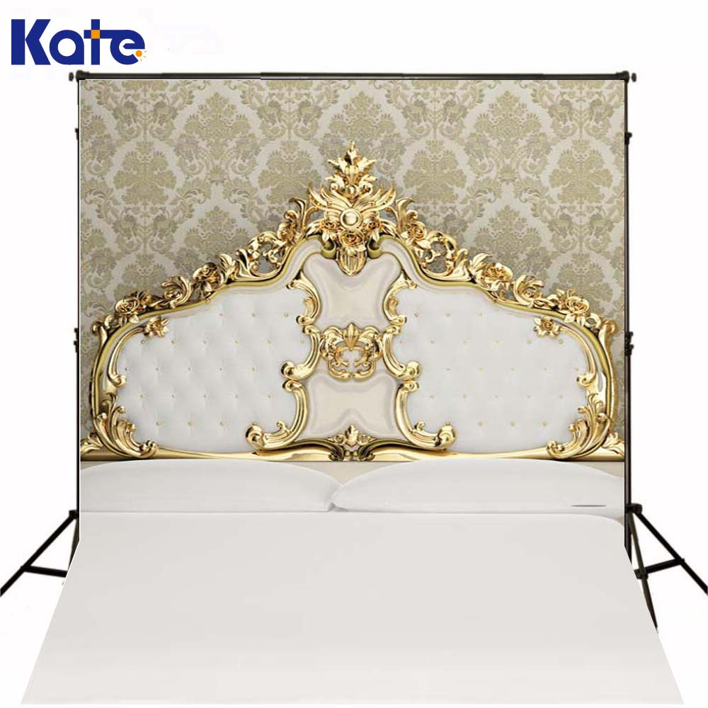 5ft 6 5ft 150cm 200cm Photography Backdrops White Indoor Bed For Children Background Photographic Studio Background