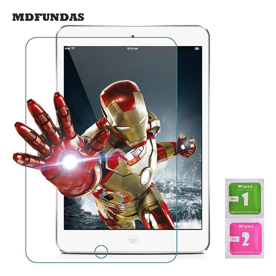 Für Apple Ipad Mini 123 Screen Protector Gehärtetem Glas Film 7,9 Zoll Tablet Pc Film 2.5d Rand 9 H Transparent Ultra-dünne 100% Original