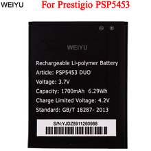 For Prestigio PSP5453 Duo Battery 1700mAh High Quality  Accumulator