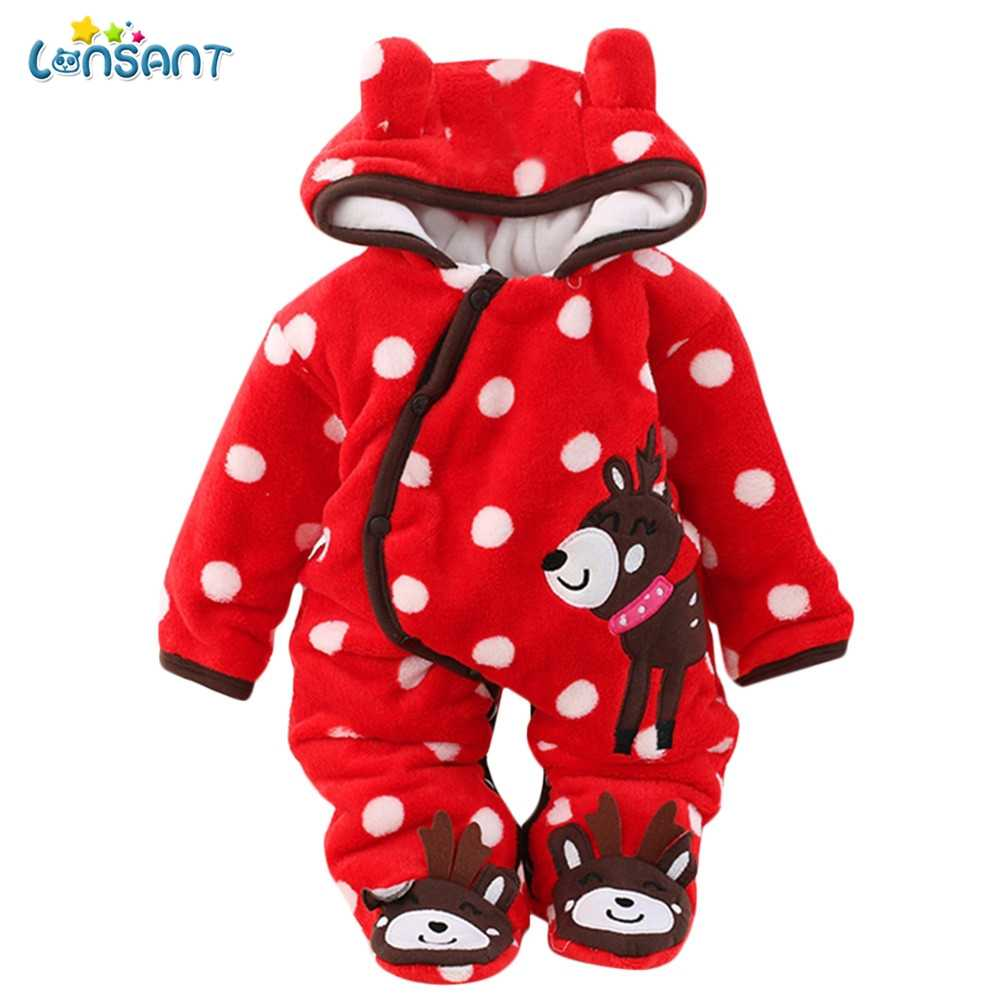 050d59fd4488 Detail Feedback Questions about LONSANT Winter Infant Hoodies ...