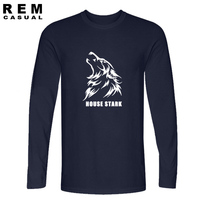 House Stark Wolf T Shirt Tee Song Of Ice And Fire Game Of Throne High Quality