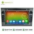 Quad core Android 5.1.1 1024*600 DAB + Reproductor de DVD Del Coche de Radio Pantalla estéreo Para Opel Zafira Astra Antara Vectra Corsa Combo Vivaro