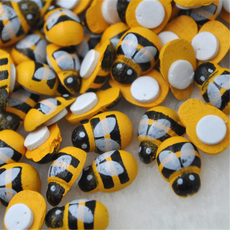 100 pcs Bee Stickers Easter...