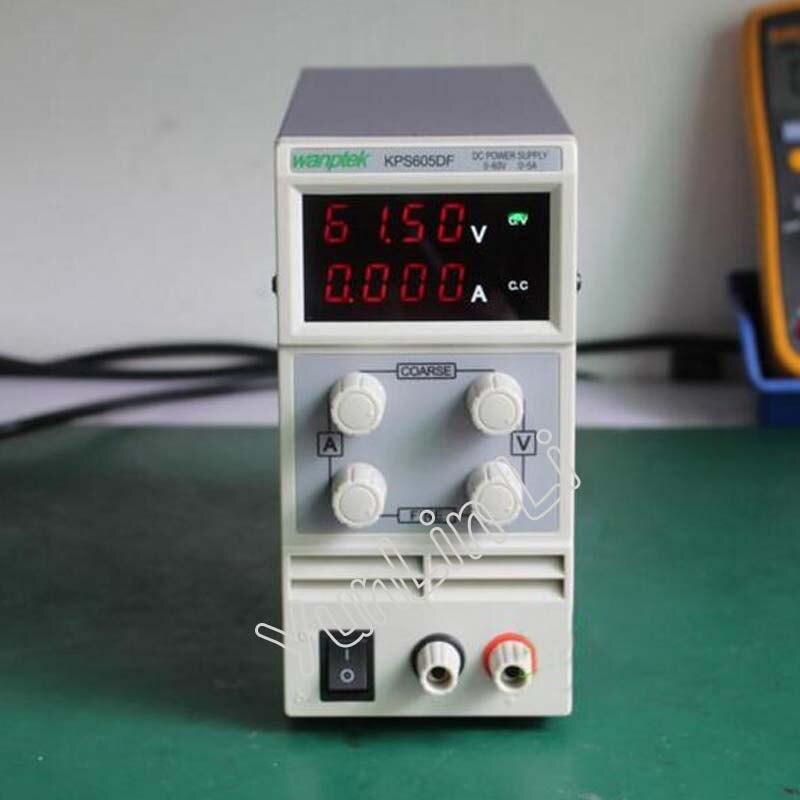 110V-230V 0.1V/0.001A LED Digital Adjustable Switch Voltage Regulators 0-60V/0-5A DC Power Supply KPS605DF nc dc dc dc adjustable voltage regulator module integrated voltage meter 8a voltage stabilized power supply