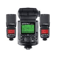 Godox AD360II For Canon GN80 E TTL Master Speedlite 2pcs TT685 Slave TTL Flash For Canon