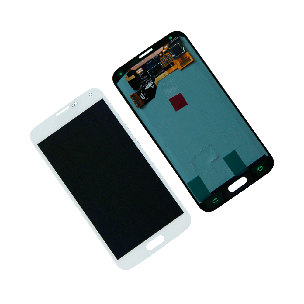 Touch Screen Digitizer LCD Display For Samsung Galaxy S5 i9600 SM-G900A SM-G900T Assembly Mobile Phone lcds Panel Repair Parts
