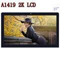 VENDA QUENTE Orignal A1419 2 K Tela LCD com conjunto de vidro LM270WQ1 SD F1 F2 Para iMac 27