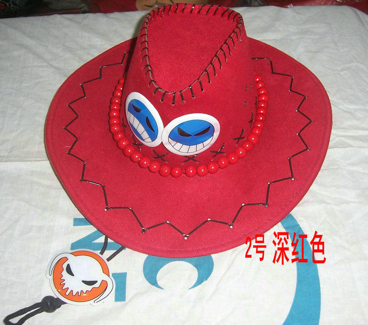 ONE PIECE Hats Ace Hat Cosplay 6 colors for option