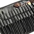 Profissional Hot Atacado preto Make Up Brushes Cosméticos nu Guardas Mais Malha 15 PCS Protetores Capa Bainha Net