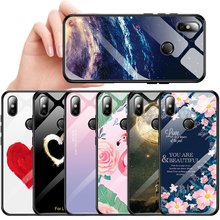 Tempered Glass Phone Case For Xiaomi Mi