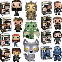 FUNKO POP 2019 New Game of Thrones Jon Snow SANSA STARK YGRITTE HOUND GIANT WIGHT ROBB Vinyl Action Figures Toys for Children(China)