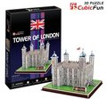 Paper model,Children's DIY toy,Paper craft,Birthday gift,3D educational Puzzle Model,Card model,Tower of London