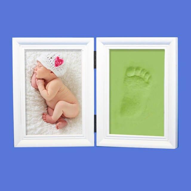 Online Shop Baby Photo Frame Footprint Handprint Imprint Cast Gift