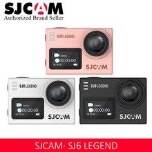 """Оригинальная Экшн-камера SJCAM SJ6 LEGEND 4 K WiFi 24fps HD 2,"""" Подводный Водонепроницаемый шлем камера NTK96660 Спортивная камера"""