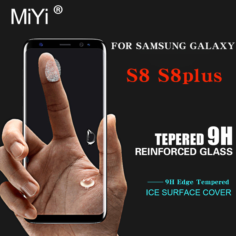 3D Curved Tempered Glass For Samsung Galaxy S8 Glas Screen Protector For Sumsung Galaxy S8 / S8 Plus Case Cover Film S 8 S8plus