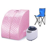 Brand New Loss Weight Sauna Spa Head Cover Tent Therapeutic Steam Spa Full Body Slim Detox