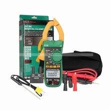 Big discount MASTECH MS2140A Digital multimeter 600A AC/DC current uA True RMS clamp meter multimeter