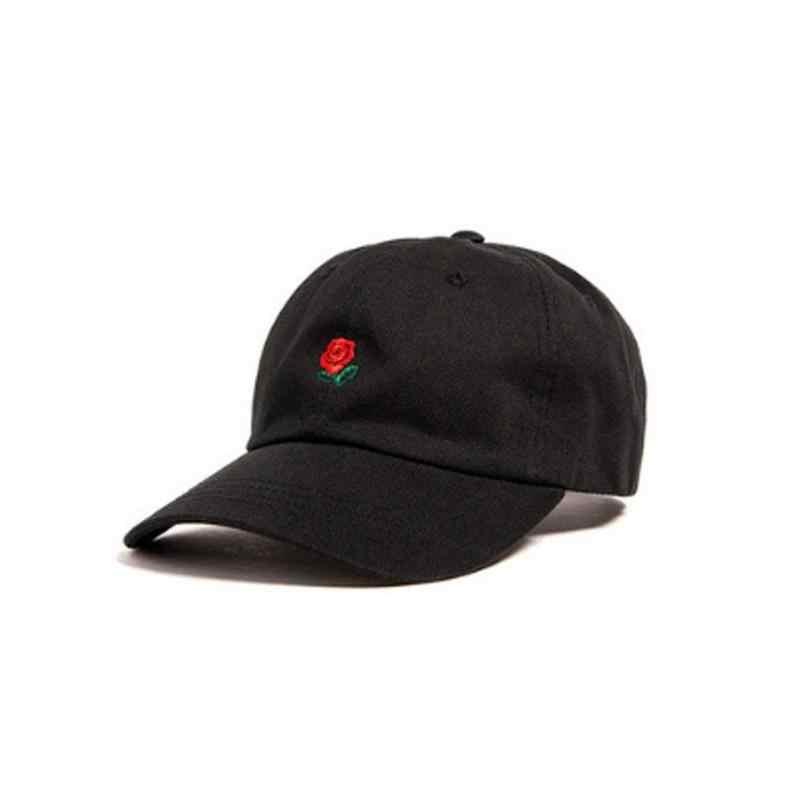 3e6039b5b7c ... BTLIGE Women Men Hundreds Dad Hat Flower Rose Embroidered Curved Brim Baseball  Cap Visor Hat Clothing ...