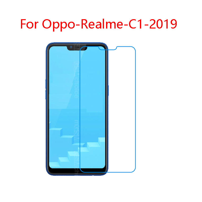 For OPPO Realme C1 2019 9H Superior toughness and safety plexiglass Screen Protector