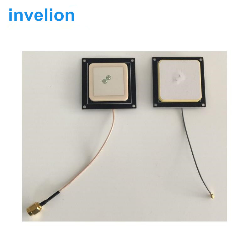 20 Stks/partij Ingebed 2dbi Mini Rfid Uhf Keramiek Antenne Voor Handheld Desktop Uhf Reader 40*40mm 865 Mhz 915 Mhz Ipex/sma-interface Tegen Elke Prijs