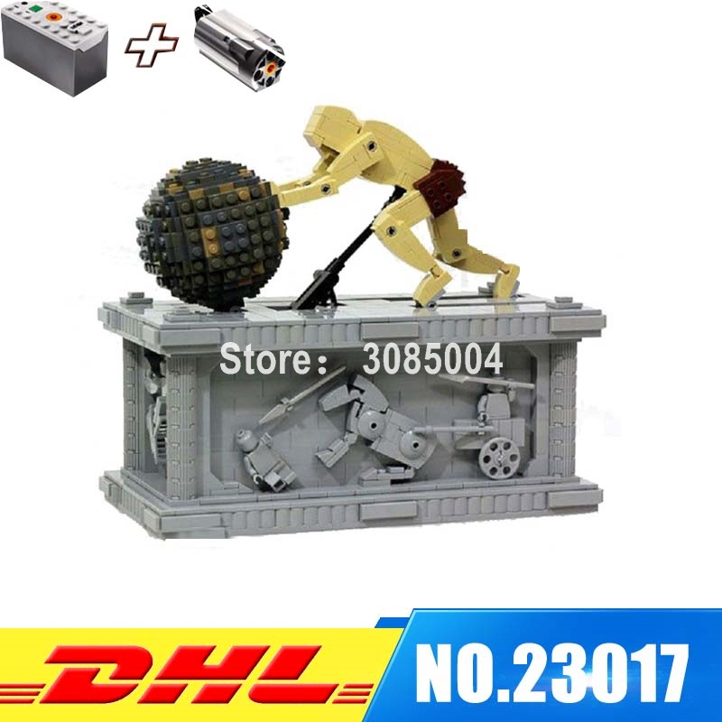 In-Stock Lepin 23017 1462Pcs Genuine Technic Series The MOC Sisyphus Moving Set 1518 Educational Building Blocks Bricks Toys new lepin 23017 1462pcs movie series moc le mythe de sisyphe building blocks bricks to holiday toys gift