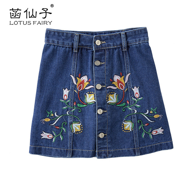 mini jeansrok