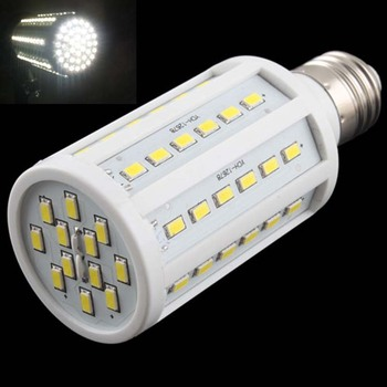 1Pcs LED Corn Light Lamp Nature white 15W replace 150W halogen lamp E27 60 5730 SMD 1500LM LED Corn Bulb 220V/110V Selling Hot image