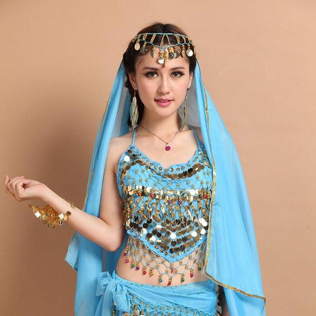 New Belly Dancing Bra For Women Sex Belly Bra Indian Dance Bra Coin Belly  Bra 8 Colour Bellydance Costume Vest
