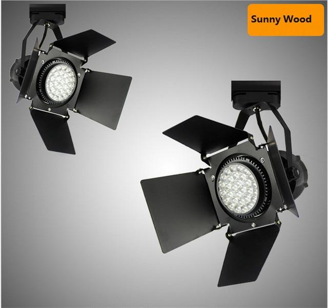 85 245vac 35w par30 led track light with shield cob track spot lamp 85 245vac 35w par30 led track light with shield cob track spot lamp aloadofball Gallery