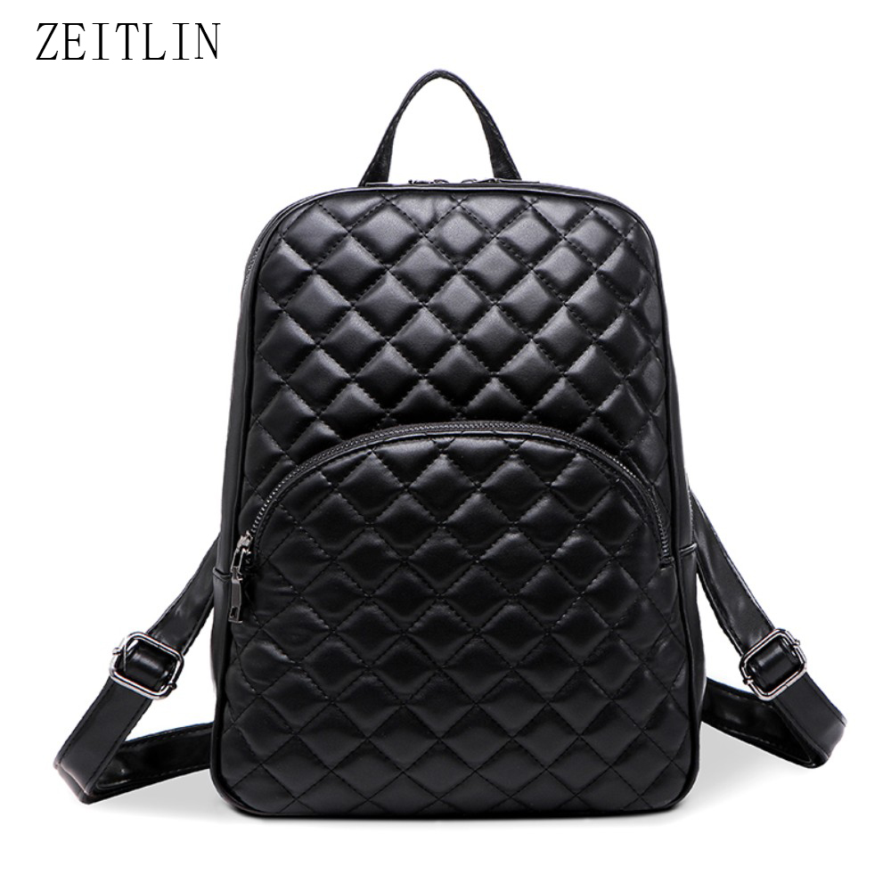 Buy leather quilted backpack and get free shipping on AliExpress.com : leather quilted backpack - Adamdwight.com