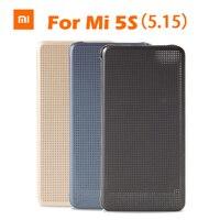 Original Xiaomi MI5s M5s Smartwake Flip Cover Case Leather Protective Cover PC PU For Xiaomi MI5S