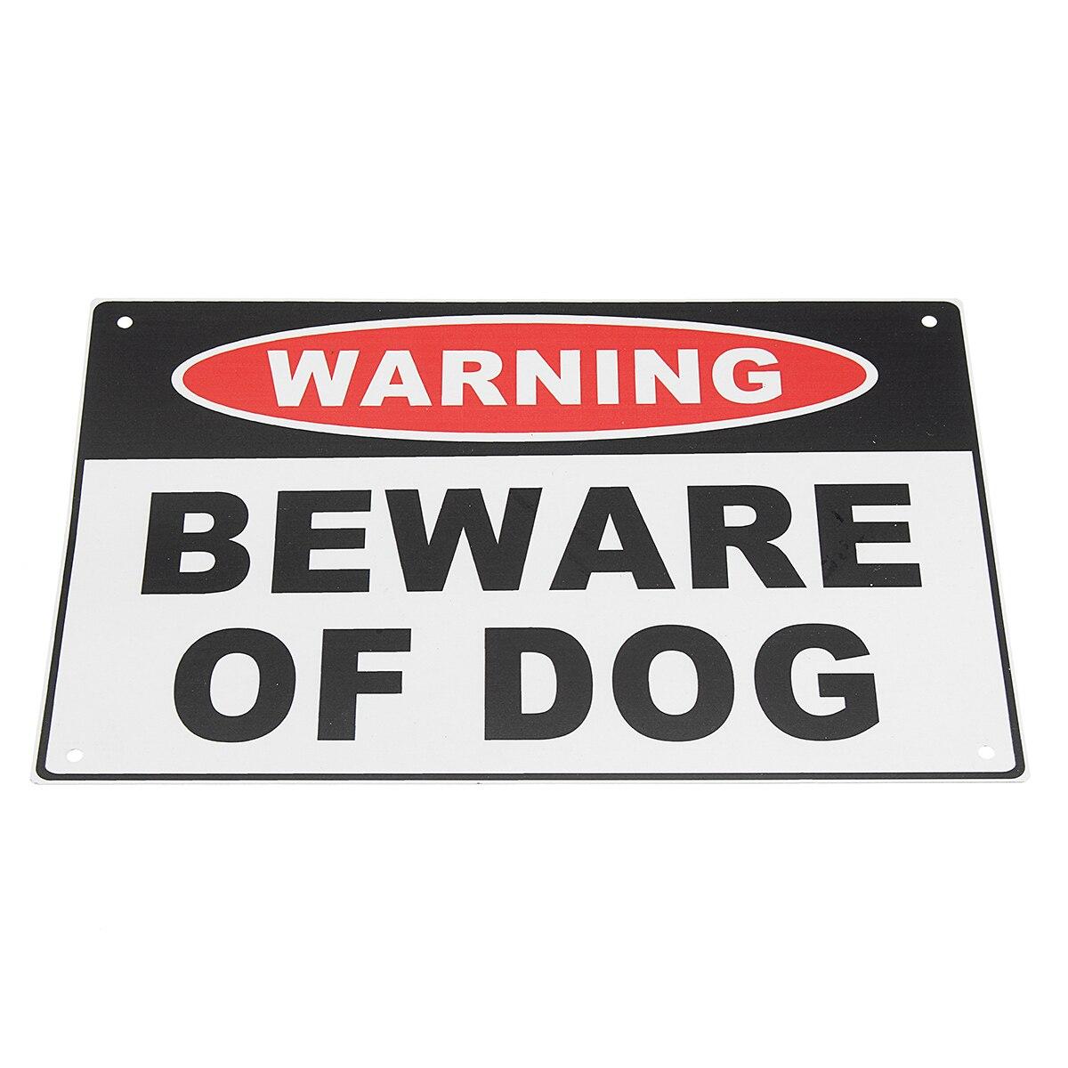 Предупреждение Остерегайтесь собаки металл алюминий безопасности Home Farm знак безопасности 200x300 мм