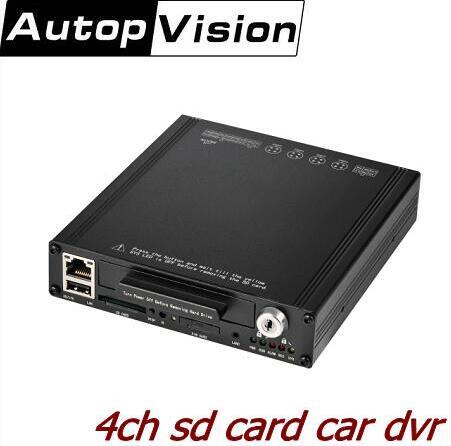 4Ch CCTV DVR/цифровой видеорегистратор Автобус dvr автомобильный проигрыватель 1/2/4CH HD DVR